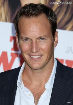 Patrick Wilson:  oh how I love that sexy peek at his chest hair!