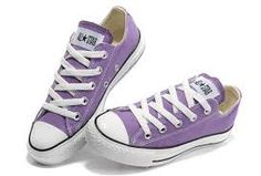 c92902f748fb quality materials Purple Converse Chuck Taylor All Star Low Top Canvas  Shoes groundwater Converse Buy Original