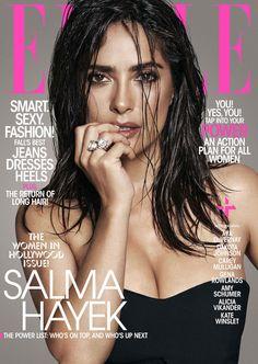 Salma Hayek na revista Elle