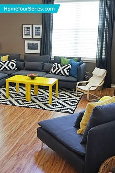 The IKEA Home Tour Squad Was Able To Give Melissa And Her Family An All New Living Room Space Perfect For Entertaining Friends