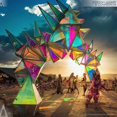 Last Call for Entries to the 2018 A' Design Awards Pulse Portal Art Installation by Davis McCarty Portal Art, Parc A Theme, Light Art Installation, Art Installations, Instalation Art, Psy Art, Festival Decorations, Stage Design, Psychedelic Art