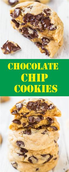 #chips, #chocolate, #cookies, #delicious, #dessert, #desserts, #food, #recipes