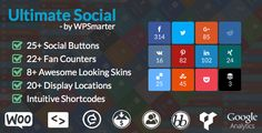 Ultimate Social - Easy Social Share Buttons and Fan Counters for WordPress - https://codeholder.net/item/wordpress/ultimate-social-deux
