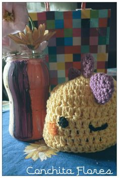 Gorrito Bebé Dinosaurio ♥ Crochet