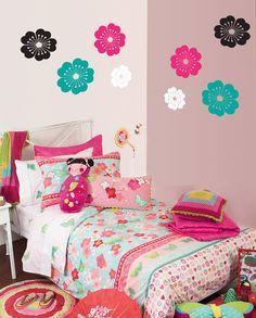 Cutest little girls room - Vinyl blossoms by Hi Octane Home
