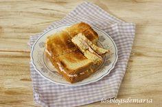Sandwichs de paté de jamón y queso