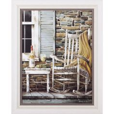 The Craft Room Reflecting Times Hardwood Shaker Framed and Textured Wall Art >>> Check this awesome product by going to the link at the image. Painting Frames, Painting Prints, Country Art, Country Life, Country Living, Country Style, In Vino Veritas, Home Hardware, Print Pictures