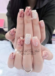 Classy Nails, Stylish Nails, Gorgeous Nails, Pretty Nails, Sexy Nail Art, Popular Nail Colors, Finger Nail Art, Lace Nails, Almond Acrylic Nails