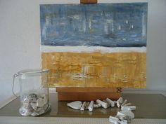 ocean paintings on Pinterest | Beach Paintings, Acrylic Paintings and ...