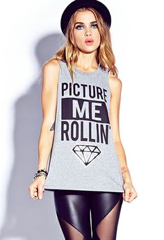 Picture Me Muscle Tee | FOREVER 21 - 2000074850
