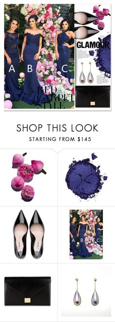 """Red Carpet Queens: Oscars Throwback"" by selmir ❤ liked on Polyvore featuring Pat McGrath and Victoria Beckham"