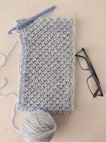 MAVİ DÜNYA: İKİSİ BİRARADA Diy Crochet, Crochet Top, Crochet Stitches, Crochet Patterns, Weaving, Wool, Tote Bag, Knitting, Accessories