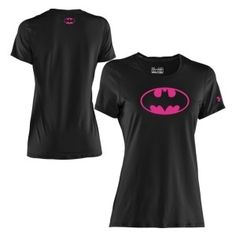 Under Armour Women's Power In Pink Alter Ego Batgirl Graphic T-Shirt