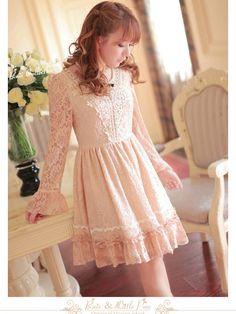 fairy princess lace dress @ asianicandy