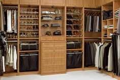 Amazing ideas on how to store all your clothes and accessories in multifunctional master bedroom closets that come in various sizes and designs.
