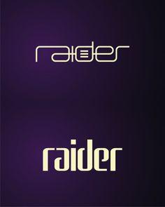 raider, clubbing, electronic, rave, music events organizer logo design