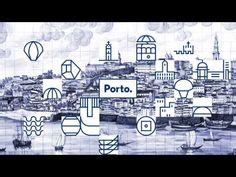 I like you too, blue (Porto city branding by White Studio)