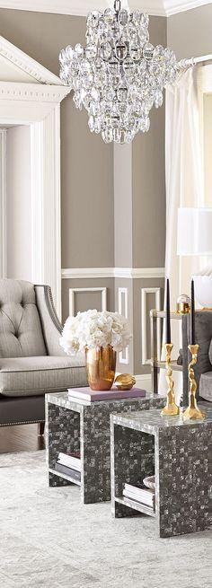 Rosamaria G Frangini | Architecture Luxury Interiors | Lighting | Glamorous Chandelier