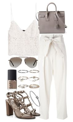 """""""Untitled #19685"""" by florencia95 ❤ liked on Polyvore featuring 3.1 Phillip Lim, Yves Saint Laurent, Zara, Boohoo, NARS Cosmetics, Valentino, Michael Kors and Tom Ford"""
