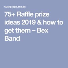Raffle prize ideas 2019 & how to get them - Bex Band Ways To Fundraise, Brittany Ferries, Prize Ideas, Donation Request, Raffle Prizes, Fundraising Events, How To Get, Lettering