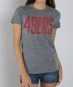 Look at this San Francisco 49ers Tee - Women on #zulily today!