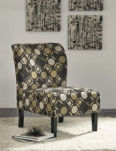 Accent Chair in Pebble