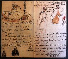 delacroix sketchbook - Google Search