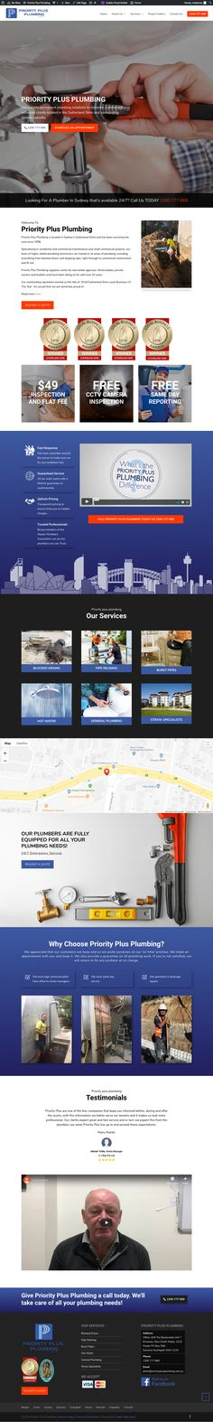 Priority Plus Plumbing offers world-class emergency plumbing services in Sydney that are affordable. Plumbing Emergency, Projects, Blue Prints, Tile Projects