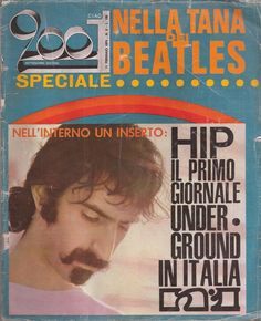 1970-02-11 Ciao 2001 v2 n6. Ciao 2001 (Hello 2001) was founded in 1969 by the merger of two magazines Ciao Amici (Hello friends) and Big, as a first Italian rock magazine.