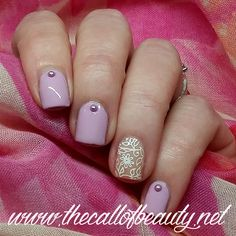 The Call of Beauty: ABC Challenge: Lollipop by Orly - Floral Negative Space Manicure