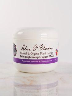 Skin Brightening Oxygen Mask