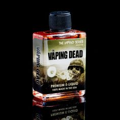 #vaping Dead the #ejuice of the apocalypse!!