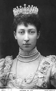Princess Louise, Princess Royal Duchess of Fife this was taken in the 1890s.