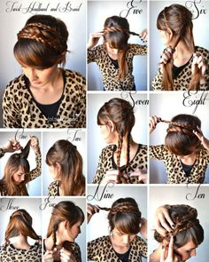 Hair style acconciature trecce Primavera http://visualfashionist.blogspot.it/2013/03/acconciature-semplici-per-la-primavera.html#more