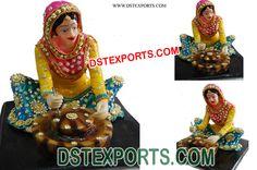 #Punjabi #Culture #Statue #Chakki #Grinding #the #Wheat #Dstexports