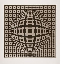 Victor Vasarely (1906-1997) Untitled screenprint in colours, signed in pencil, numbered 211/275, on wove paper, with full margins, 660 x 660 mm (26 x 26 in)