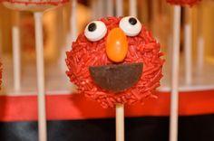 Elmo Cake Pop by Too Sweet Sisters