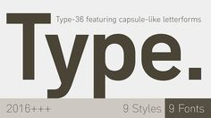 Type-36 font @creativework247