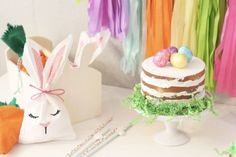 Bright Spring Colors Easter Party | Just A Little Sparkle