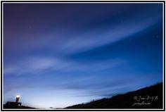 Fotografía nocturna en el Faro de Cabo Mayor