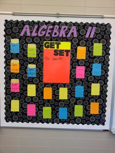 9 best education high school math bulletin boards images in Math Teacher, Math Classroom, Teaching Math, Classroom Organization, Classroom Decor, Future Classroom, Classroom Management, Teacher Stuff, Maths