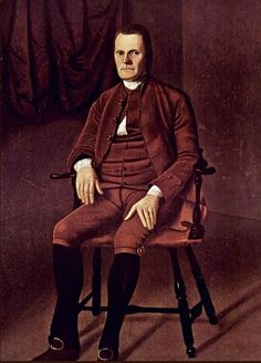 Portrait of Roger Sherman - Ralph Earl
