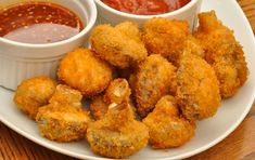 A delicious recipe for making breaded mushrooms in your air fryer 250 grams = 8 oz. Air Fryer Oven Recipes, Air Frier Recipes, Deep Fryer Recipes, Air Fryer Recipes Appetizers, Air Fryer Recipes Vegetarian, Breaded Mushrooms, Stuffed Mushrooms, Battered Mushrooms, Fried Mushroom Recipes