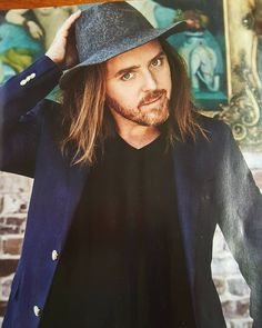 This was in the Woman's Weekly ....a great pic of a wonderful comedian...Tim Minchin ...who looks very good in this hat!!!