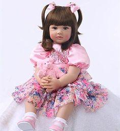 Best Oumeinuo22″ Reborn Baby Dolls Realistic Newborn Lifelike Vinyl Silicone Toddler Doll Boy cute girl – Lifelike Baby Dolls For Adults