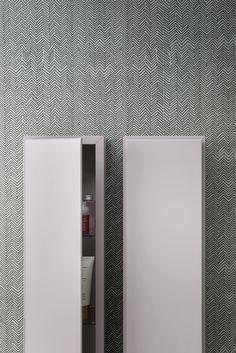 Waterproof #bathroom #wallpaper FIBRA by Rexa Design   #design Monica Graffeo @rexadesign