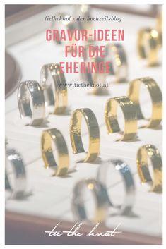 Wir haben die schönsten Gravur-Ideen für die Eheringe für die Hochzeit.