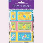 Baby Shower Raffle Prize Ticket Game