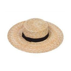 Why a straw hat is worth the hat hair
