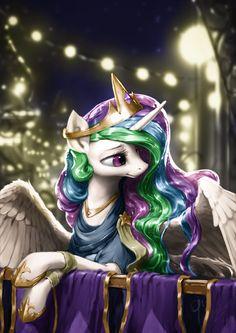 #1305913 - artist:assasinmonkey, clothes, colored, edit, lidded eyes, princess celestia, safe, solo, spread wings - Derpibooru - My Little Pony: Friendship is Magic Imageboard